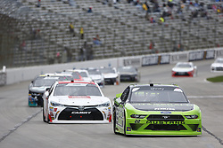 April 7, 2018 - Ft. Worth, Texas, United States of America - April 07, 2018 - Ft. Worth, Texas, USA: Ryan Blaney (22) races down the front stretch during the My Bariatric Solutions 300 at Texas Motor Speedway in Ft. Worth, Texas. (Credit Image: © Stephen A. Arce/ASP via ZUMA Wire)