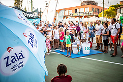 Tenis Fest at Day 9 of ATP Challenger Zavarovalnica Sava Slovenia Open 2019, on August 17, 2019 in Sports centre, Portoroz/Portorose, Slovenia. Photo by Vid Ponikvar / Sportida