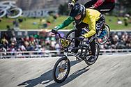 25-29 Men #309 (MAHUIKA Jamie) AUS at the 2018 UCI BMX World Championships in Baku, Azerbaijan.