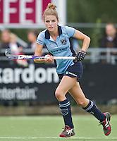 LAREN - 11-09-2011  - Laren speelster Vicky van den Broek,  zondag tijdens de Rabo hoofdklassewedstrijd tussen Laren en Hurley (4-0). Foto KNHB/Koen Suyk