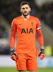 Tottenham Hotspur goalkeeper Hugo Lloris during the Premier League match at the King Power Stadium, Leicester.