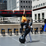 OSCYL Variation performs at GDIF - Dancing City at Canary Wharf, on 29 June 2019, London, UK.