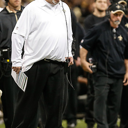 Nov 16, 2014; New Orleans, LA, USA; New Orleans Saints defensive coordinator Rob Ryan against the Cincinnati Bengals during the second half of a game at the Mercedes-Benz Superdome. The Bengals defeated the Saints 27-10. Mandatory Credit: Derick E. Hingle-USA TODAY Sports