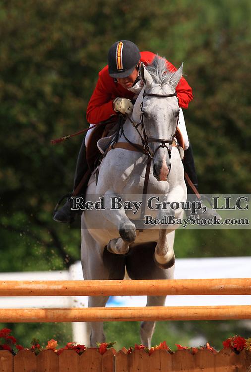 Bruce Davidson and Jam at the 2009 Maui Jim Horse Trials in Wayne, Illinois.