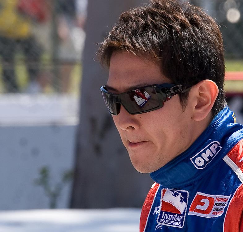 #27 Formula Dream car fo Andretti Green Racing. Long Beach Grand Prix 4/25/09