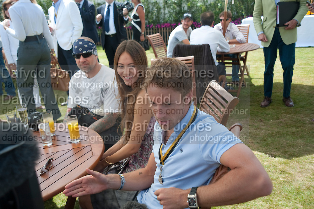 JASON JAMES; JESSICA MICHIBATA;  JENSON BUTTON;, Cartier Style et Luxe at the Goodwood Festival of Speed. Goodwood House. 5 July 2009.