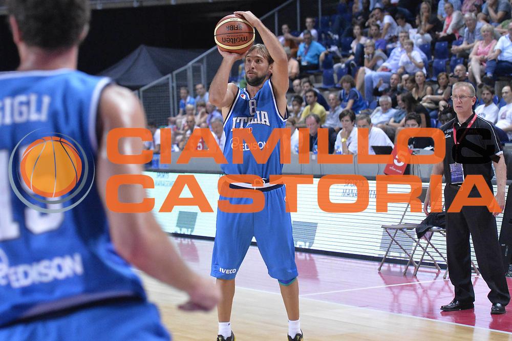 DESCRIZIONE : Anversa European Basketball Tour Antwerp 2013 Belgio Italia Belgium Italy<br /> GIOCATORE : Giuseppe Poeta<br /> CATEGORIA : Three points<br /> SQUADRA : Nazionale Italia Maschile Uomini<br /> EVENTO : European Basketball Tour Antwerp 2013 <br /> GARA : Belgio Italia Belgium Italy<br /> DATA : 17/08/2013<br /> SPORT : Pallacanestro<br /> AUTORE : Agenzia Ciamillo-Castoria/GiulioCiamillo<br /> Galleria : FIP Nazionali 2013<br /> Fotonotizia : Anversa European Basketball Tour Antwerp 2013 Belgio Italia Belgium Italy<br /> Predefinita :