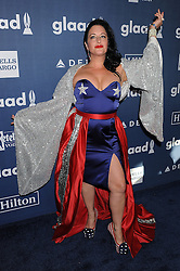 American Nikki, 27th Annual GLAAD Media Awards, at The Beverly Hilton Hotel, April 2, 2016 - Beverly Hills, California. EXPA Pictures © 2016, PhotoCredit: EXPA/ Photoshot/ Celebrity Photo<br /> <br /> *****ATTENTION - for AUT, SLO, CRO, SRB, BIH, MAZ, SUI only*****