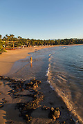 Kaunaoa Beach, Mauna Kea Beach and Resort, Kohala Coast, Island of Hawaii