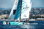 GAC Pindar, Day two of the Extreme Sailing Series at Nice. 3/10/2014