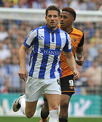 SAM HUTCHINSON SHEFFIELD WEDNESDAY,  Hull City v Sheffield Wednesday Sky Bet Championship Play-Off Final, Wembley Stadium Saturday  28th May 2016.<br /> Photo:Mike Capps