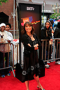 Karen Allen at the BET Networks and Paramount special screening of Indiana Jones and the Kingdom of the Crystal Skull at The Magic Johnson Theater in Harlem, NYC on May 20, 2008