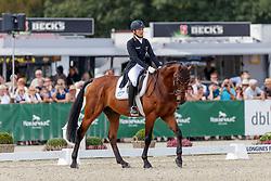 Klimke Ingrid, GER, Horseware Hale Bob<br /> European Championship Eventing<br /> Luhmuhlen 2019<br /> © Hippo Foto - Stefan Lafrentz