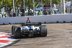 March 8, 2019 - St. Petersburg, Florida, U.S. - MARCO Andretti (98) of the United States goes through the turns during practice for the Firestone Grand Prix of St. Petersburg at Temporary Waterfront Street Course in St. Petersburg, Florida. (Credit Image: © Walter G Arce Sr Asp Inc/ASP)