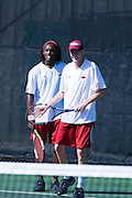 University of Arkansas Razorback Men's Tennis team action photography in Fayetteville, Arkansas during the 2010-2011 season.<br /> <br /> <br /> <br /> <br /> University of Arkansas Razorback Men's Tennis team action photography in Fayetteville, Arkansas during the 2007-2008 season.