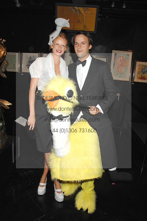 OLIVIA INGE and CHARLIE GILKES at Andy & Patti Wong's Chinese new Year party held at County Hall and Dali Universe, London on 26th January 2008.<br /> <br /> NON EXCLUSIVE - WORLD RIGHTS (EMBARGOED FOR PUBLICATION IN UK MAGAZINES UNTIL 1 MONTH AFTER CREATE DATE AND TIME) www.donfeatures.com  +44 (0) 7092 235465
