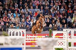 Kreuzer Andreas, (GER), Calvilot<br /> Championship of Neumünster - Prize of Paul Schockemöhle Stud<br /> FEI World Cup Neumünster - VR Classics 2017<br /> © Hippo Foto - Stefan Lafrentz