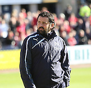 Dundee manager Paul Hartley  - Dundee v Hamilton, SPFL Premiership at Dens Park<br /> <br />  - &copy; David Young - www.davidyoungphoto.co.uk - email: davidyoungphoto@gmail.com