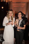 CALGARY AVANSINO,; KRISTEN AVANSINO  The Veuve Clicquot Business Woman Award. Claridge's Ballroom. London W1. 11 May 2015.