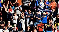 Fotball , 11 . august 2017 , Eliteserien , <br /> illustrasjon , publikum , fan fans, sandefjord