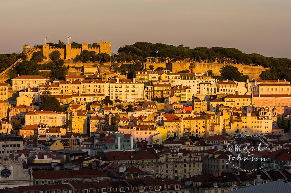 Lisbon & the Castelo de Sao Jorge, Portugal