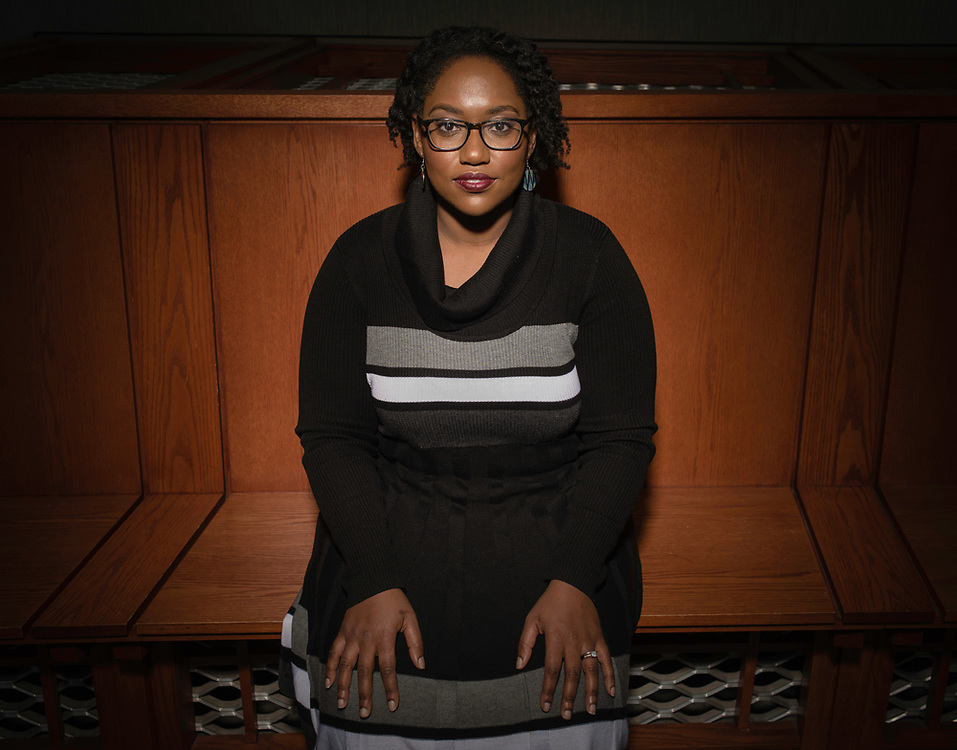 WASHINGTON, DC -- 12/5/16 -- Marcia Chatelain is an Associate Professor of History at Georgetown. She has spurred the development of the syllabus as a tool for social justice.…by André Chung #_AC25184