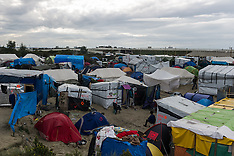 """France: """"Jungle"""" refugee camp on the outskirts of the French city of Calais, 17 Oct. 2016"""