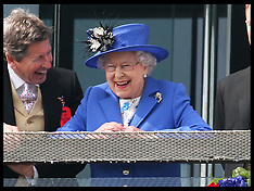 The Queen at the Epsom Derby 2-6-12