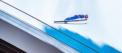 31.12.2016, Olympiaschanze, Garmisch Partenkirchen, GER, FIS Weltcup Ski Sprung, Vierschanzentournee, Garmisch Partenkirchen, Training, im Bild Sevoie Vincent Descombes (FRA) // Sevoie Vincent Descombes of France during his Qualification Jump for the Four Hills Tournament of FIS Ski Jumping World Cup at the Olympiaschanze in Garmisch Partenkirchen, Germany on 2016/12/31. EXPA Pictures © 2017, PhotoCredit: EXPA/ JFK