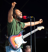 Ziggy Marley performs live at the<br /> House of Common festival, Clapham Common, London, Great Britain<br /> 26th August 2019