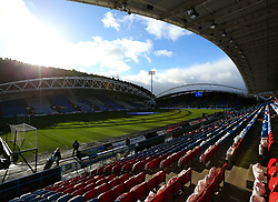 A general view of The John Smith's Stadium, home to Huddersfield Town - Mandatory by-line: Robbie Stephenson/JMP - 11/02/2018 - FOOTBALL - The John Smith's Stadium - Huddersfield, England - Huddersfield Town v Bournemouth - Premier League