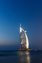 Luxury Burj al Arab Hotel in Dubai United Arab Emirates