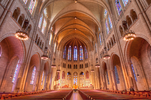 Riverside Church, New York City, New York, Designed By Allen U0026 Collens,