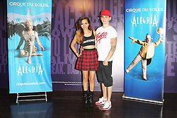© London News PIctures. Jade Thirlwall; Sam Craske at Cirque Du Soleil Alegria opening night, O² Arena, London UK, 18 July 2013. Photo credit: Richard Goldschmidt/LNP