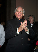 SIR EVELYN DE ROTHSCHILD, Opening of Blood on Paper: the art of the Book. V & A. Museum. London. 14 April 2008. Afterwards there was a dinner hosted by Lady Foster.  *** Local Caption *** -DO NOT ARCHIVE-© Copyright Photograph by Dafydd Jones. 248 Clapham Rd. London SW9 0PZ. Tel 0207 820 0771. www.dafjones.com.