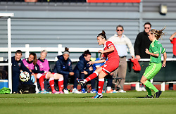 Bristol Academy's Hayley Ladd ia action against Sunderland AFC Ladies - Mandatory by-line: Paul Knight/JMP - 25/07/2015 - SPORT - FOOTBALL - Bristol, England - Stoke Gifford Stadium - Bristol Academy Women v Sunderland AFC Ladies - FA Women's Super League