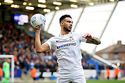 Coventry City defender Jordan Willis (4) during the EFL Sky Bet League 1 match between Peterborough United and Coventry City at London Road, Peterborough, England on 16 March 2019.