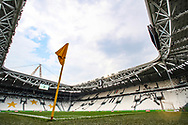 A general view of the stadium during the Serie A match at Allianz Stadium, Turin. Picture date: 26th June 2020. Picture credit should read: Jonathan Moscrop/Sportimage