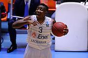 BRINDISI 02 DICEMBRE2014<br /> BASKET EUROCUP<br /> Enel Brindisi Gran Canaria<br /> NELLA FOTO David Reginald Cournooh<br /> FOTO CIAMILLO