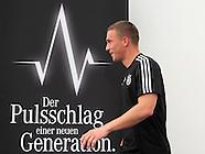 Fussball EURO 2012: Medieninteresse bei DFB Pressekonferenz
