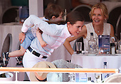 Charlotte Casiraghi and her son Rapheal