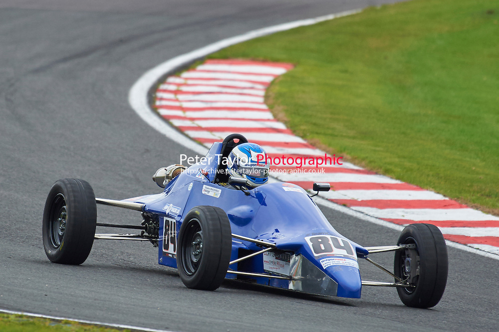 #84 Stephen Bracegirdle Van Diemen RF89 during Avon Tyres Formula Ford 1600 Northern Championship - Pre 90 Race 1 as part of the BRSCC Fun Cup Oulton Park 17th October 2015 at Oulton Park, Little Budworth, Cheshire, United Kingdom. October 17 2015. World Copyright Taylor/PSP. Copy of publication required for printed pictures.  Every used picture is fee-liable. http://archive.petertaylor-photographic.co.uk