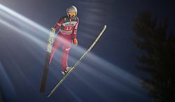06.01.2015, Paul Ausserleitner Schanze, Bischofshofen, AUT, FIS Ski Sprung Weltcup, 63. Vierschanzentournee, Finale, im Bild Kamil Stoch (POL) // Kamil Stoch of Poland during Final Jump of 63rd Four Hills <br /> Tournament of FIS Ski Jumping World Cup at the Paul Ausserleitner Schanze, Bischofshofen, Austria on 2015/01/06. EXPA Pictures &copy; 2015, PhotoCredit: EXPA/ JFK