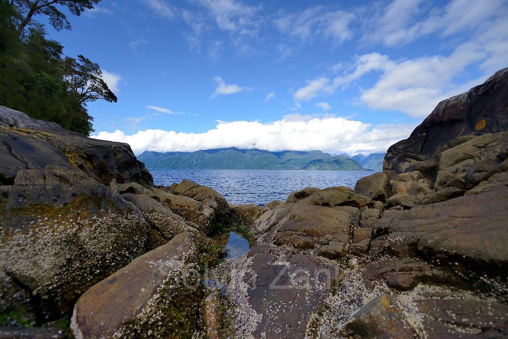 Comau Fjord, Patagonia, Chile