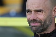 Rotherham United manager Paul Warne during the EFL Sky Bet League 1 match between Burton Albion and Rotherham United at the Pirelli Stadium, Burton upon Trent, England on 17 August 2019.