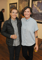 Chanelle Walsh and Joanna Kisielinska pictured at the opening of the two group shows Identity and Ipseity at the Westival Gallery. <br /> Pic Conor McKeown