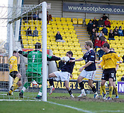 Dundee's Jamie McCluskey stabs home the winner from close range - Livingston v Dundee, IRN BRU Scottish Football League, First Division - ..© David Young - .5 Foundry Place - .Monifieth - .Angus - .DD5 4BB - .Tel: 07765 252616 - .email: davidyoungphoto@gmail.com.web: www.davidyoungphoto.co.uk