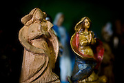 Ponte Nova_MG, Brasil...Detalhe de santos artesanais produzido por um artista, em seu atelier na sede da cidade de Ponte Nova...Detail of saints craft produced by the artist, in his atelier at the in  Ponte Nova...Foto: BRUNO MAGALHAES / NITRO
