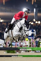 Schwizer Pius, SUI, Grand Cooper<br /> Jumping Mechelen 2018<br /> © Hippo Foto - Sharon Vandeput<br /> 29/12/18