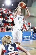 DESCRIZIONE : Valmiera Latvia Lettonia Eurobasket Women 2009 Francia Italia France Italy<br /> GIOCATORE : Simona Ballardini<br /> SQUADRA : Italia Italy<br /> EVENTO : Eurobasket Women 2009 Campionati Europei Donne 2009 <br /> GARA : Francia Italia France Italy<br /> DATA : 07/06/2009 <br /> CATEGORIA : tiro<br /> SPORT : Pallacanestro <br /> AUTORE : Agenzia Ciamillo-Castoria/E.Castoria<br /> Galleria : Eurobasket Women 2009 <br /> Fotonotizia : Valmiera Latvia Lettonia Eurobasket Women 2009 Francia Italia France Italy<br /> Predefinita :